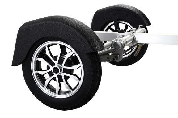 Tow-Bii - motorcycle trailer - wheels
